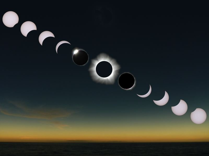 COURTESY PHOTO: NASA - The Aug. 21 eclipse will require special glasses to view. Legacy Health Systems said Thursday eclipse glasses distributed at some public events may not be safe to use.