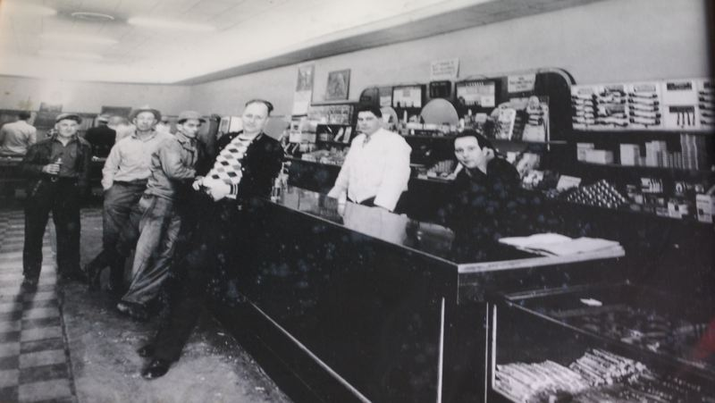 PHOTO BY: RAYMOND RENDLEMAN - Thirsty Duck Saloon once housed Farr's Market at 505 Main St., Oregon City.