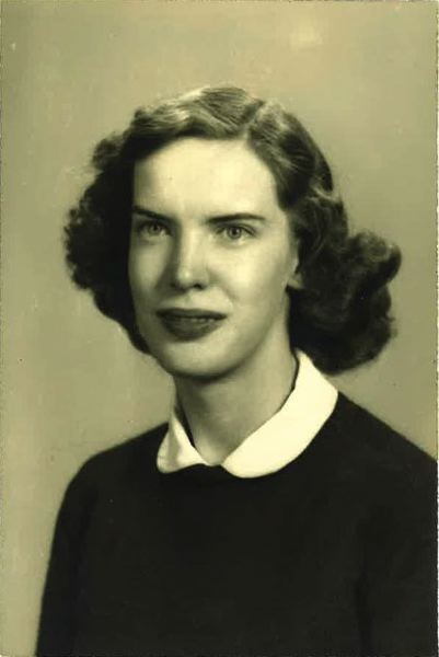 SUBMITTED PHOTO - Margaret Ann Prichard prior to graduating from Milwaukie High School in 1947.
