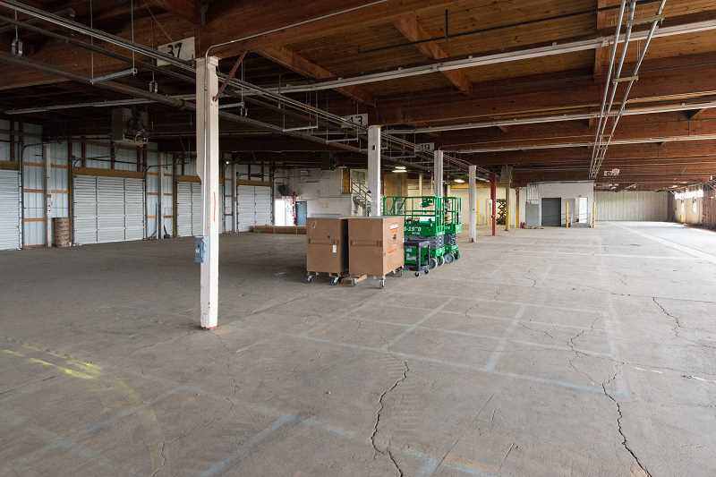 HILLSBORO TRIBUNE PHOTO: CHRISTOPHER OERTELL - This large warehouse will transform into 100,000 square feet of smaller leased spaces for marajuana growers at the Walnut Industrial Park in Hillsboro.