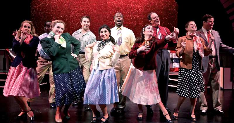 SUBMITTED PHOTO: SAM ORTEGA - Clackamas Repertory Theatres production of The Melody Lingers On featuring the music of Irving Berlin, is in its last days - dont miss it!