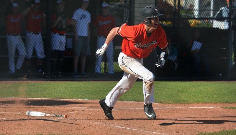 TIMES FILE PHOTO - Former Beaverton High School outfielder Kevin Watson Jr. signed with the Arizona Diamondbacks and is currently playing in rookie ball this summer. Watson Jr. was first-team all-state for the Beavers as a senior.