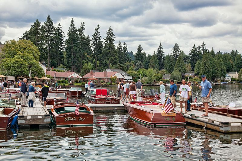 CONTRIBUTED - Classic boats will be on display on Lake Oswgo on Aug. 26 and 27.
