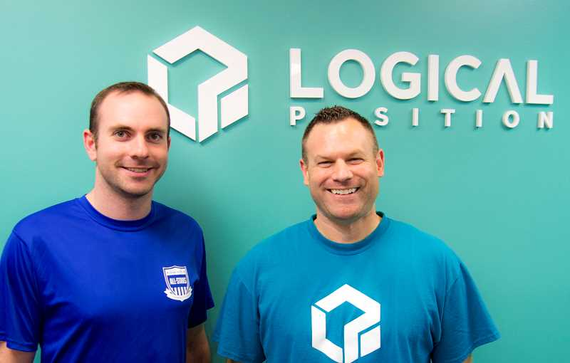 SUBMITTED PHOTO: LOGICAL POSITION - Adam Schwartz (left) and Tony Palazzo believe that a happy employee makes a happy customer. To achieve that, theyve implemented a system of committees to engage their employees in areas theyre passionate about.