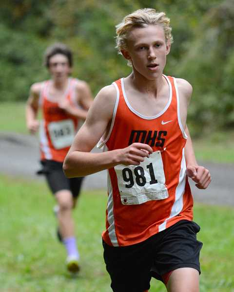 PIONEER FILE PHOTO - Molalla senior Eli Rome will be a key component of the boys' team this season.