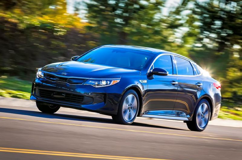 KIA MOTORS AMERICA - The 2017 Kia Optima Hybrid is a big, comfortable and solid family car that will make you forget you're driving a hybrid.