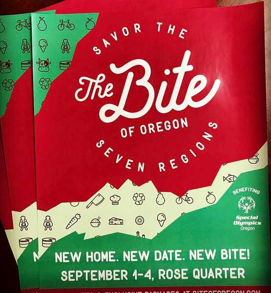 SUBMITTED IMAGE - The 2017 Bite of Oregon has a new home.