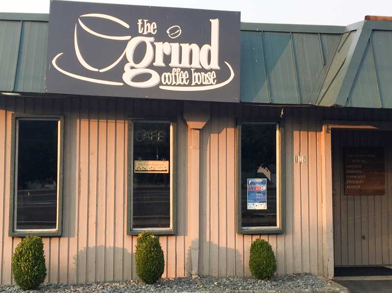 ESTACADA NEWS PHOTO: EMILY LINDSTRAND - Workers at The Grind Coffee House said Monday, Aug. 21, the day of the solar eclipse, was their busiest day of the year so far.