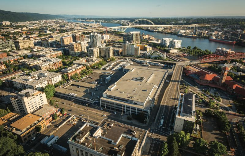 CONTRIBUTED PHOTO - The 13.4-acre U.S. Post Office distribution center that Prosper Portland bought last year is one of the big future redevelopment opportunities in the central city.