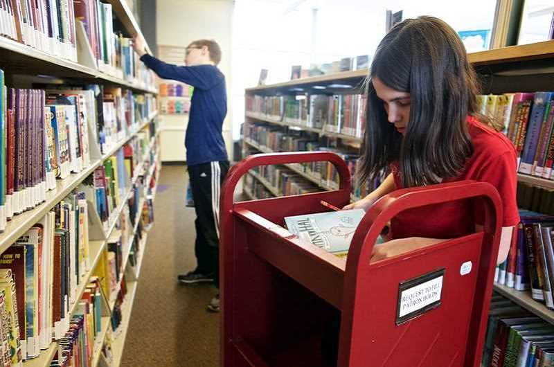 TIMES FILE PHOTO - You can apply for a library card at any Washington County library, including the Tigard Public Library (shown here).