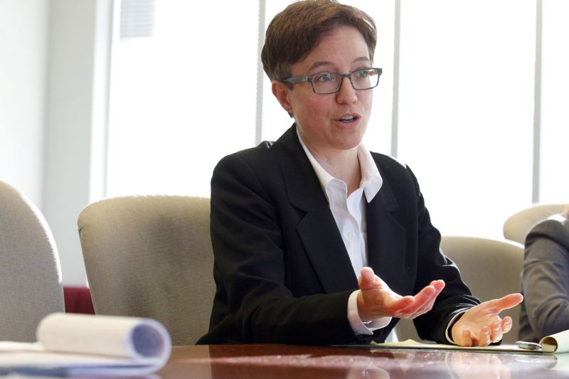PAMPLIN MEDIA GROUP FILE PHOTO  - A big reason Oregon ranked so high among other states is womens representation in politics: Oregon has a woman Speaker of the House, Tina Kotek.
