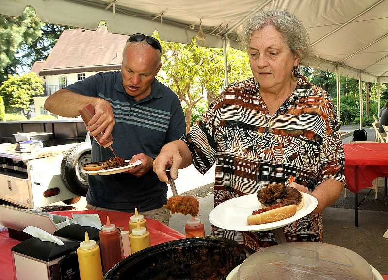 The barbeque Aug. 19 was intended to raise awareness and attract new volunteers.