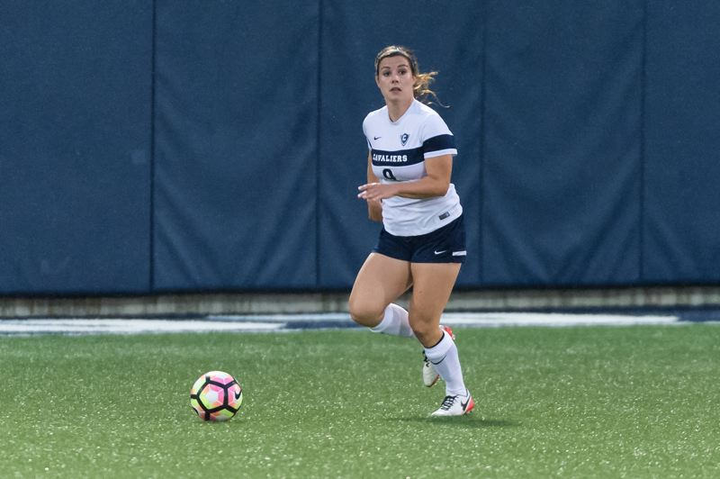 COURTESY: CHRISTOPHER OERTELL - Senior defender Martha Heaps helps lead a Concordia University womens soccer team that hopes to land the school's first NCAA Division II postseason berth.