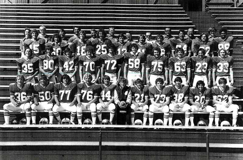 COURTESY PHOTO - Neil Strachan (44) was a key player on the Forest Grove High football team that lost to Sunset in the state final.