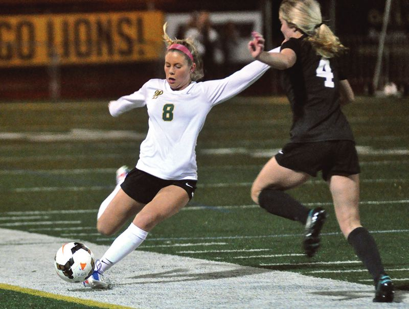 TIDINGS FILE PHOTO - West Linn senior Grace Gabler (shown last year) and the Lions are back to challenge the Three Rivers League's best again in the coming 2017 season.