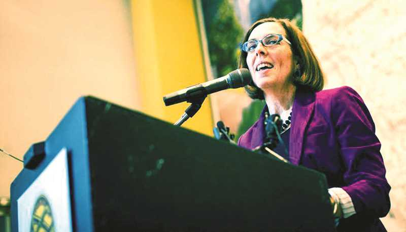 PMG FILE PHOTO - Gov. Kate Brown says her goal is to fuel projects in progress with community backing that were 'needed to spur economic growth in the particular communities.'