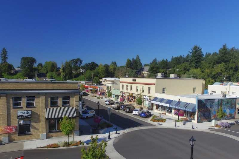 CONTRIBUTED PHOTO: CITY OF ESTACADA - The Estacada Urban Renewal Agency is considering an an amendment to the citys urban renewal plan that would allow for property acquisition and redevelopment. Any specific buildings that would be purchased and renovated is still being determined.