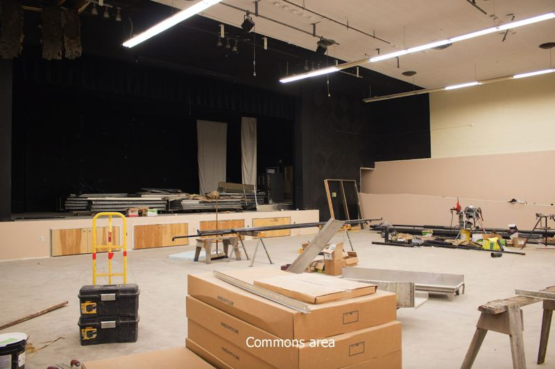 CONTRIBUTED PHOTO: OREGON TRAIL SCHOOL DISTRICT - The newly renovated high school will provide Cedar Ridge Middle School students with many amenities they don't have at their current location.