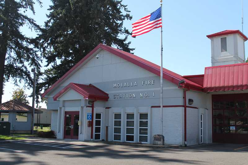 PIONEER PHOTO: CONNER WILLIAMS - The Molalla Fire District was awarded a federal grant to hire a recruitment and retention coordinator in charge of volunteers.