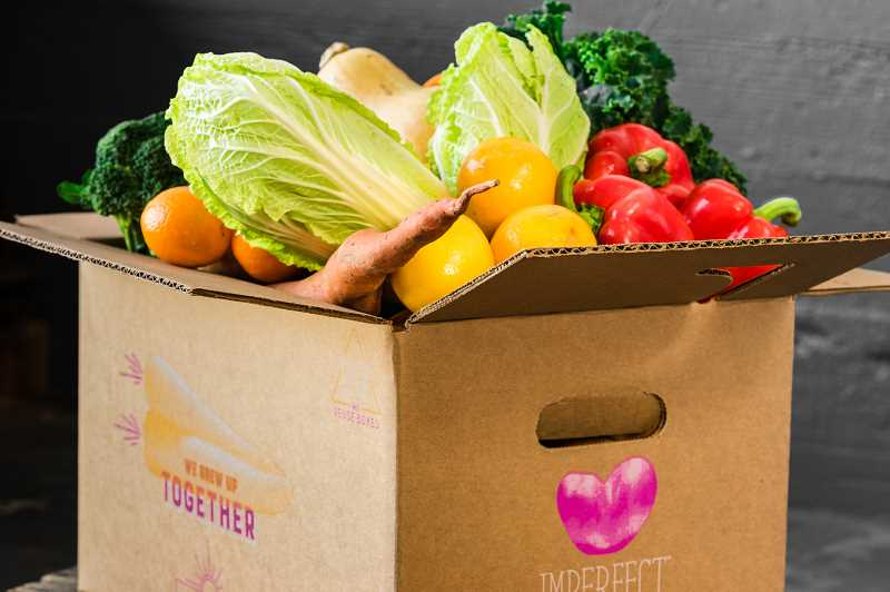 SUBMITTED PHOTOS: IMPERFECT PRODUCE - Imperfect Produce has launched a new service in the Portland metro area delivering imperfect fruits and vegetabales to your door.