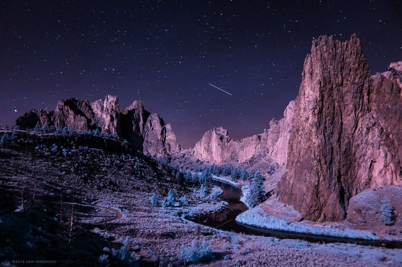 COURTESY: PORTLAND ECO-FILM FESTIVAL - Invisible Oregon is a stunning time-lapse film of landscapes across the state, shot with infrared converted cameras. What will you recognize?