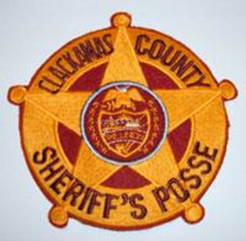 SUBMITTED PHOTO - Clackamas County Sheiff's Posse logo.