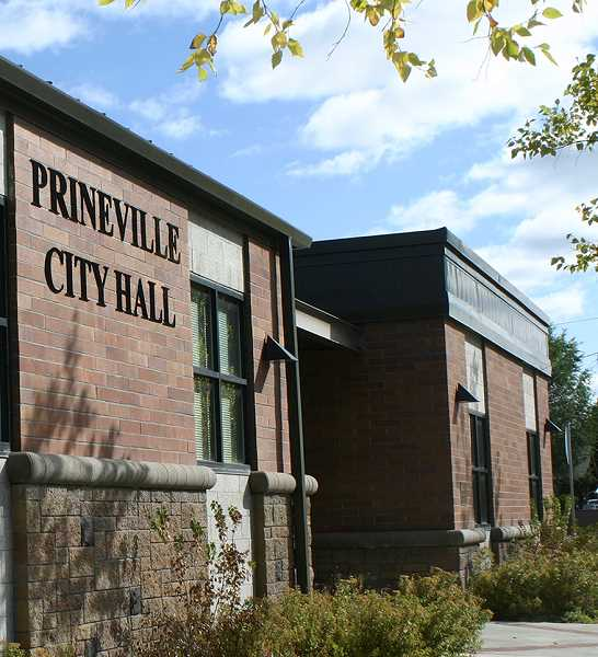 CENTRAL OREGONIAN - Prineville City Hall