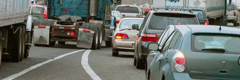 PORTLAND BUREAU OF TRANSPORTATION - The Oregon Department of Transportation has declared the Rose Quarter area the most congested bottleneck on I-5 in the state.