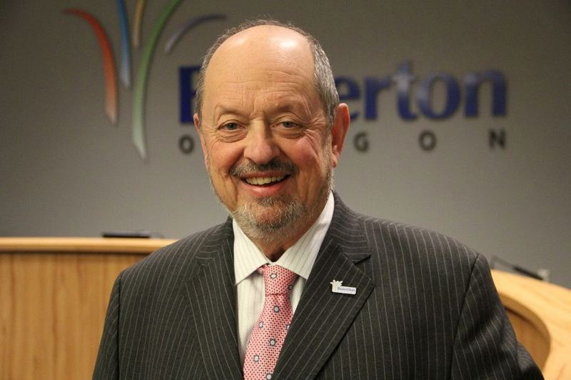 PAMPLIN MEDIA GROUP: FILE PHOTO - Mayor Doyle