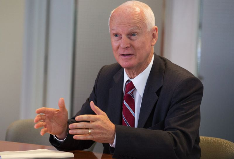 PAMPLIN MEDIA GROUP FILE PHOTO - Secretary of State Dennis Richardson said Friday, Sept. 8, that a federal election commission finally paid the $500 necessary to get Oregon's statewide voter information list.