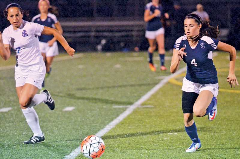 COREY BUCHANAN - The Wilsonville girls soccer team seeks to improve upon themselves each week.
