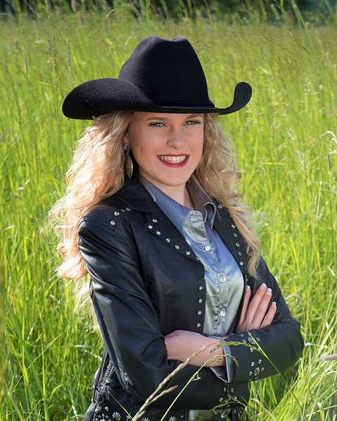 SUBMITTED PHOTO: WENDY PISCITELLI - Addy Crouch will reign as the 2018 Miss Teen Rodeo Oregon.