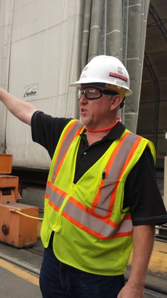 PAMPLIN MEDIA GROUP: JOSEPH GALLIVAN  - Project manager Fred LaCapra at Gunderson.
