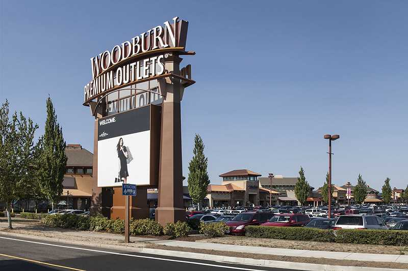 COURTESY PHOTO: WOODBURN PREMIUM OUTLETS - Attractions like the Woodburn Premium Outlets draw many tourists to Woodburn. The city's Tourism Advisory Committee hopes to draw attention to what else the city has to offer.