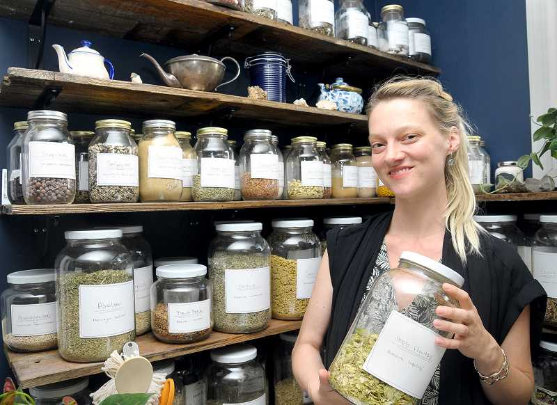 GARY ALLEN - With a master's degree in acupuncture 
