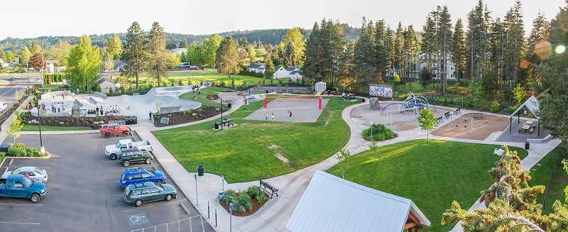 CONTRIBUTED PHOTO: CITY OF ESTACADA - The city of Estacada recently conducted a survey of usage for parks and other city facilities, including Wade Creek Park.