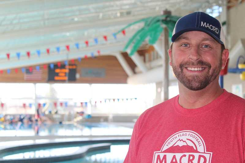 HOLLY M. GILL - Joe McHaney, executive director of the Madras Aquatic Center Recreation District, has seen a huge uptick in program and facility use over the past four years.