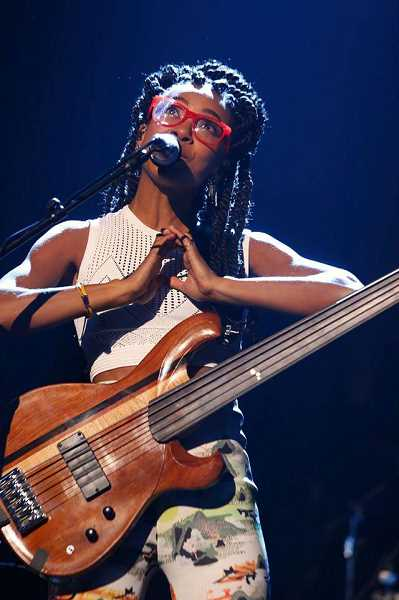 PAMPLIN MEDIA FILE PHOTO - Esperanza Spalding, who grew up in Portland, has gained international acclaim as a jazz artist.