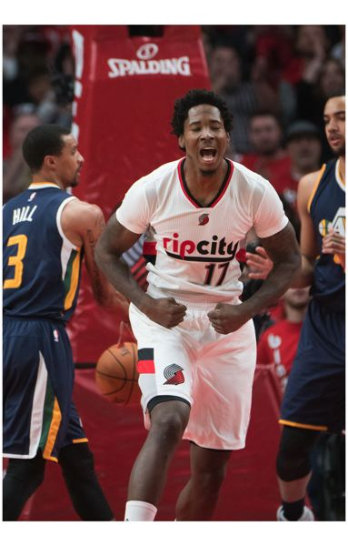 TRIBUNE FILE PHOTO: JOSH KULLA - Trail Blazers power forward Ed Davis says he has found a home in Portland and would like to stay with the NBA team.