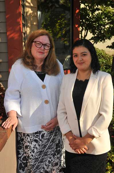 REVIEW PHOTO: VERN UYETAKE - Claudia Lopez worked with immigration lawyer Diane Grover to enroll in DACA when she was 15. Her current enrollment will last long enough for her to complete her undergraduate degree, but will expire in late 2019.