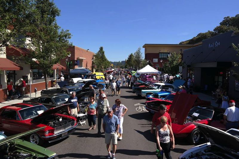 Annual Cruise to Historic Downtown Oregon City