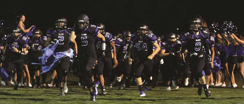 PHIL HAWKINS - The Woodburn Bulldogs went on a 21-0 run to defeat the Benson Techmen 24-13 and pick up their first win of the season on Friday.