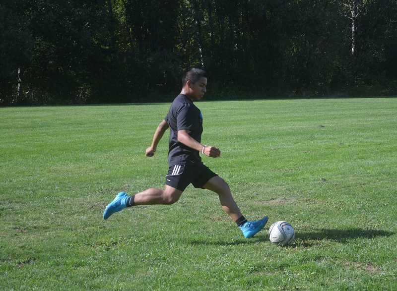 TANNER RUSS - Wilsonville defeated Silverton 3-1 on Tuesday, Sept. 12 on their home field.