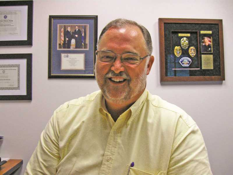 COURTESY PHOTO: CITY OF MOUNT ANGEL - Mike Healy has been Mount Angel's police chief since 2010. He's retiring in October.