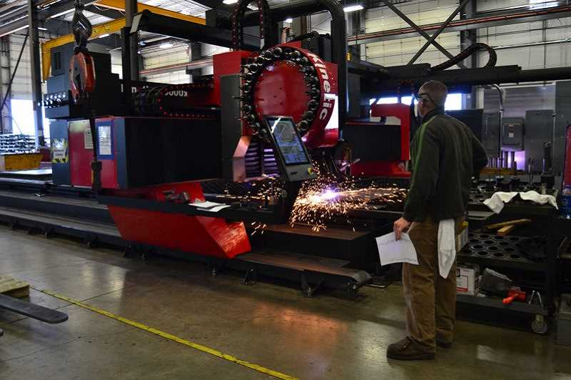 PAMPLIN MEDIA FILE PHOTO - GK Machine will host more than 100 students in celebration of Manufacturing Day. The company aims to teach young people about job opportunities in the manufacturing industry.