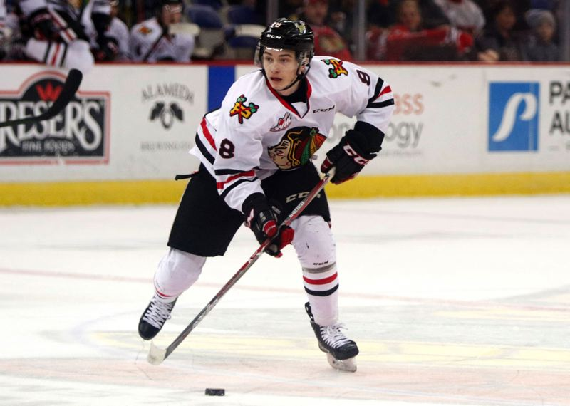 TRIBUNE FILE PHOTO: JONATHAN HOUSE - Cody Glass, the first pick of the expansion NHL Vegas Golden Knights, is expected to return as one of the scoring leaders for the Portland Winterhawks.