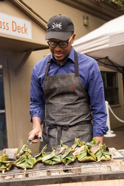 COURTESY: NICKY VALLS - Chef Gregory Gourdet of Departure PDX was one of four rock star Portland chefs who competed at Wild About Game in 2016. He'll compete again thisyear.