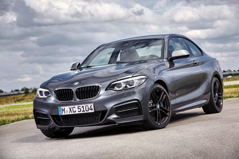 COURTESY BMW - The 2017 BMW 230i is the company's most affordable car but is still a real BMW.