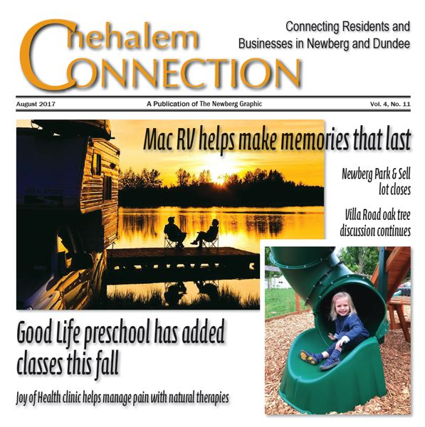 (Image is Clickable Link) Chehalem Connection August 2017