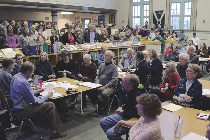 PAMPLIN MEDIA GROUP FILE PHOTO - Residents in the Eastmoreland neighborhood had heated arguments about establishing a historic district earlier this year. Some believe the neighborhood association system, overseen by the city's Office of Neighborhood Involvement, is broken.